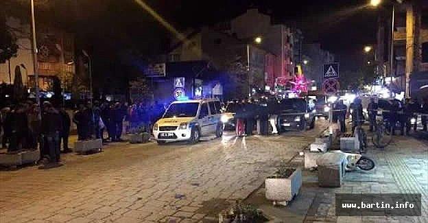 Çaycuma'da Sokak Ortasında İnfaz