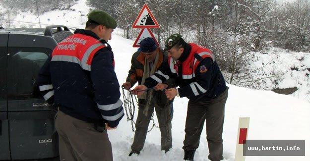 Jandarma'dan Kış Uyarısı