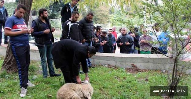Zonguldak Kömürspor, galibiyet için kurban kesti