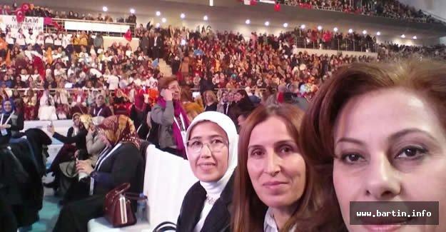 Ak Parti Kadın Kolları 4.Olağan Kongre'de