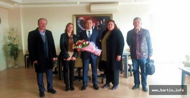 Aydoğdu'ya Teşekkür Ziyareti