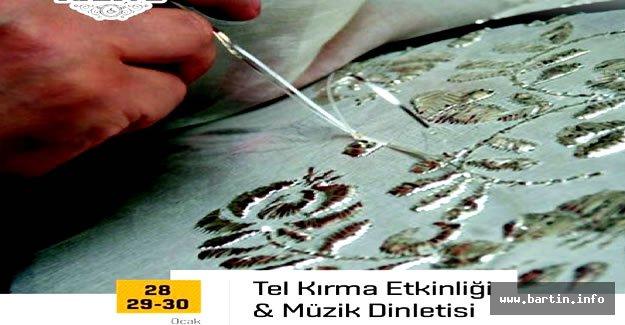 Sanat Kahve'de Ney Eşliğinde Tel Kırma