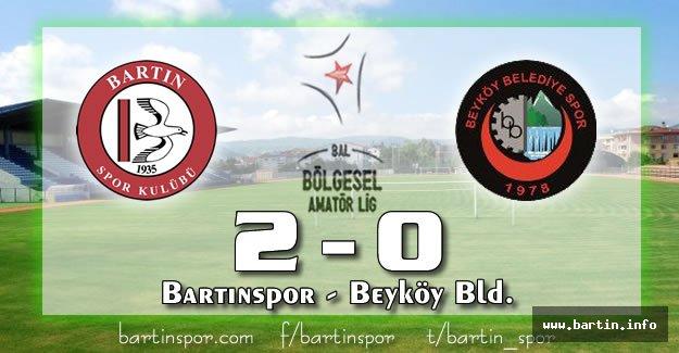Bartınspor Zirveye Göz Kırptı: 2-0