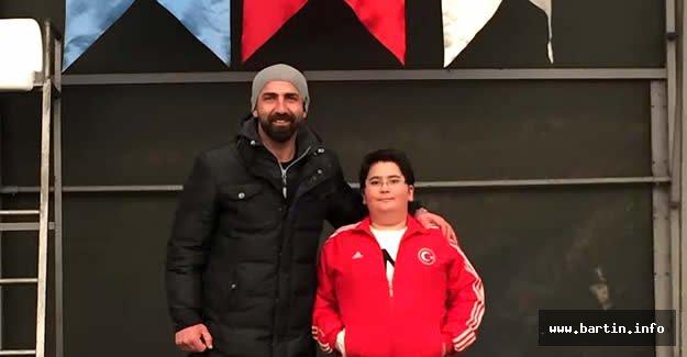 Kayak Türkiye şampiyonası için Erzurum'a gittiler