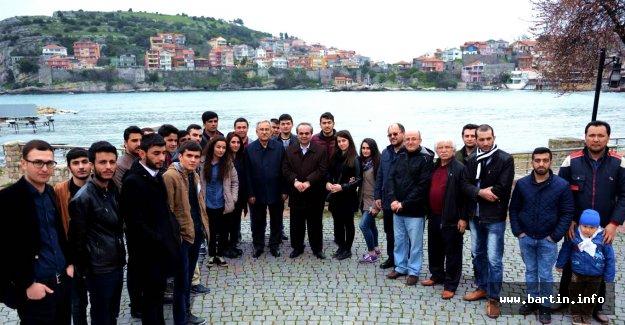 7 Farklı Ülke Öğrencileri Amasra Müzesini Gezdi
