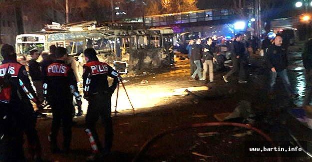 Ankara'da Patlama: 27 Ölü, 75 Yaralı