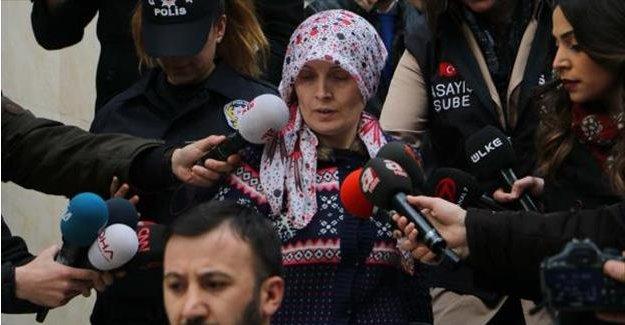 Beratcan'ın annesi adliyeye getirildi