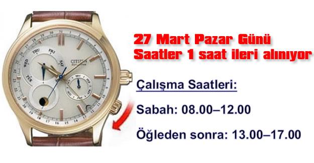 Dikkat ! Mesai Saatleri Değişiyor
