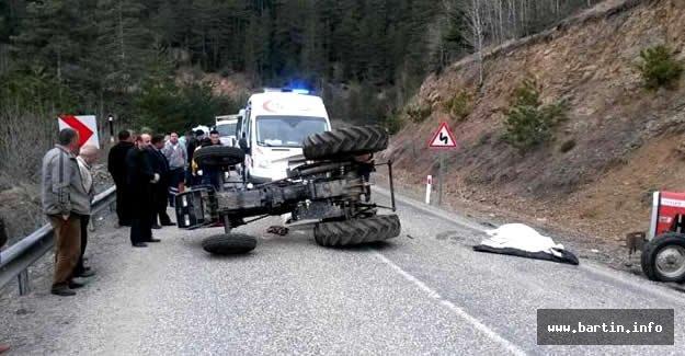 Kullandığı traktörün altında kalan çocuk öldü