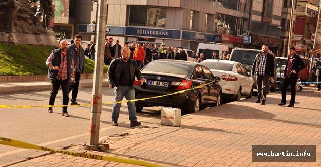 AK Parti binası önünde şüpheli çanta paniği
