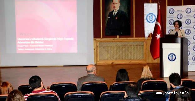 Bartın Üniversitesi'nde Akademik Yayın Çalıştayı