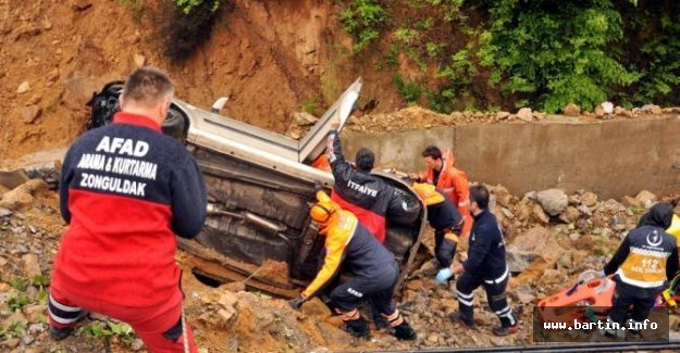 Bartınlı Madenciler Kaza Yaptı: 1 Ölü, 1 Yaralı
