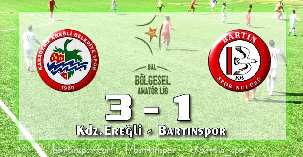 Bartınspor'da Umutlar Başka Bahara: 3-1