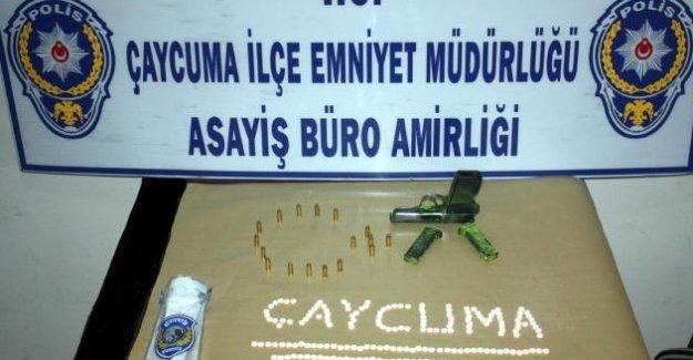 Çaycuma'da Operasyon: 3 gözaltı