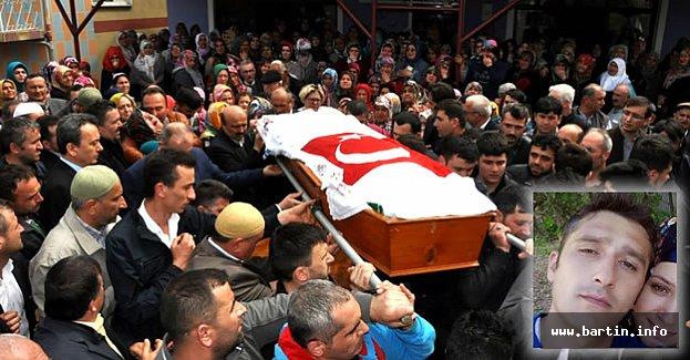 Göçükte ölen işçi Bartın'da toprağa verildi