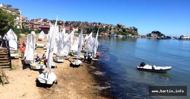 Karadeniz Kupası Yelken Yarışları Amasra'da yapılıyor