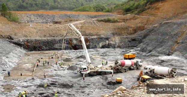 Kirazlıköprü Barajında tarihi adım