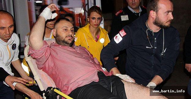 Silahlı kavga ihbarına gitti, yaralanan eşi çıktı