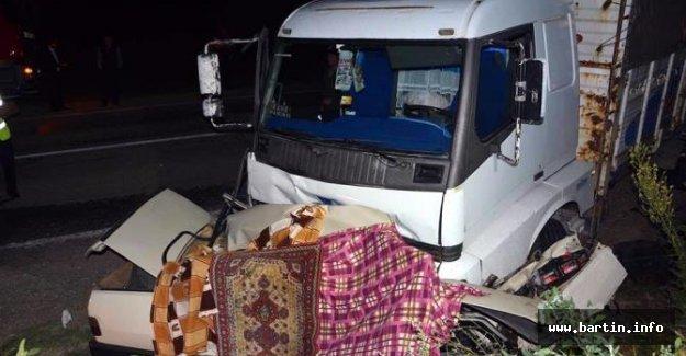 5 kişinin öldüğü kazada kamyon sürücüsüne 18 bin lira ceza