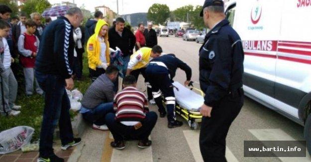 AK Partili eski yönetici yaya çifte çaptı; 1 ölü, 1 yaralı