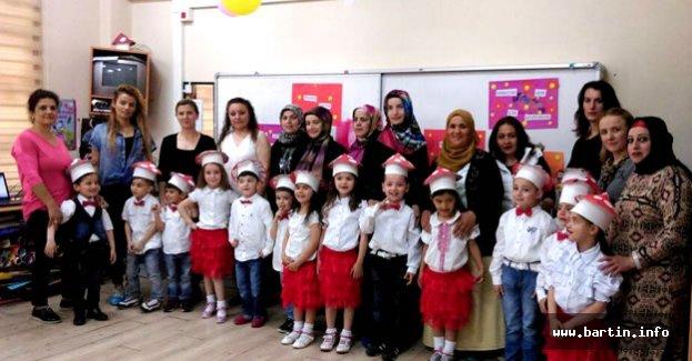 Anasınıfı öğrencilerinden anneler günü kutlaması