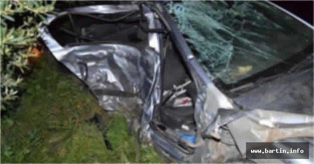 Bartın'da Feci Kaza: 2 ölü, 1 yaralı