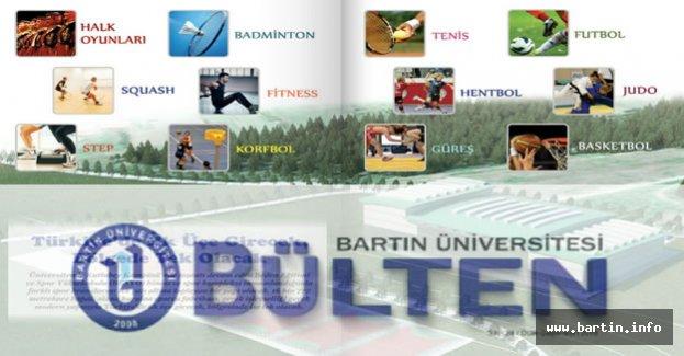 Bartın Üniversitesi Bülteni'nin 24.Sayısı çıktı