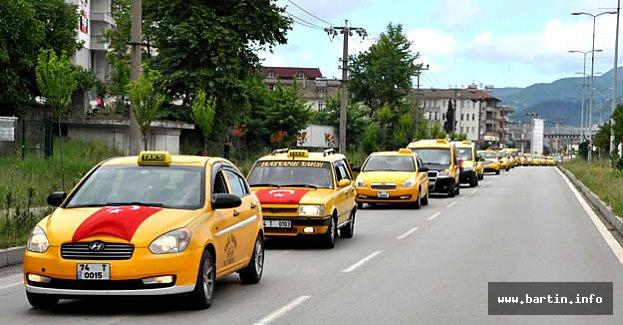 Bartın'da 200 Araçlık Şehitlere Saygı Konvoyu