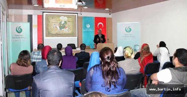 Civelek'ten Mısır'da Nasreddin Hoca Konferansı