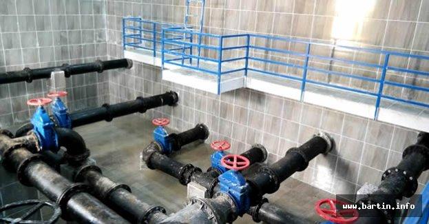 3 Bin Tonluk Su Deposu İşletmeye Alındı