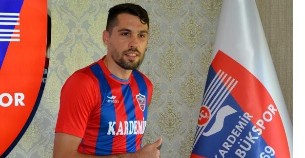 Karabükspor Valerica Gaman'la sözleşme imzaladı