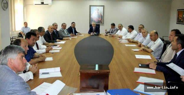 Vali Dirim Mahalli İdareler Birliği Başkanlığına seçildi