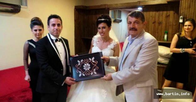 Akın Çiftleri Tebrik Etti