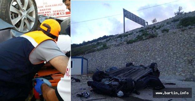 Amasra'da Feci Kaza: 4 Yaralı