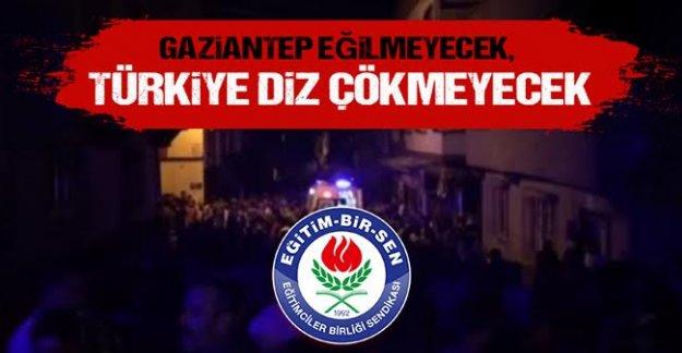 AKÇA: Gaziantep Saldırısının Hedefi Bütün İnsanlıktır