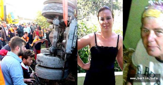 Anne ve kızının öldüğü kazada kamyon sürücüsüne tahliye