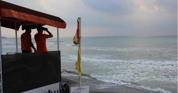 Denizde kaybolan 14 yaşındaki Serhat bulunamadı