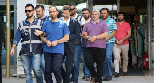 FETÖ soruşturmasında 12 kişi adliyeye sevk edildi