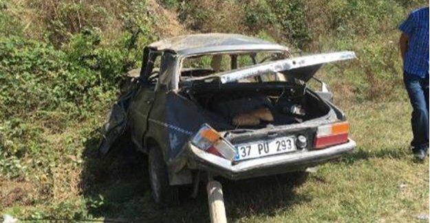 Freni boşalan araç takla attı: 5 yaralı