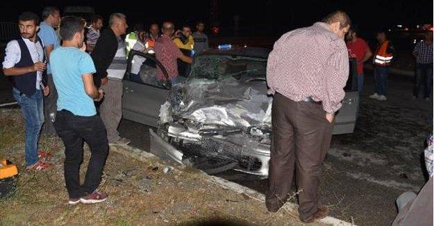 Kamyonet Otomobille çarpıştı: 7 yaralı