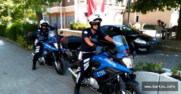 Motosikletli Jandarma Trafik Timleri Göreve Başladı