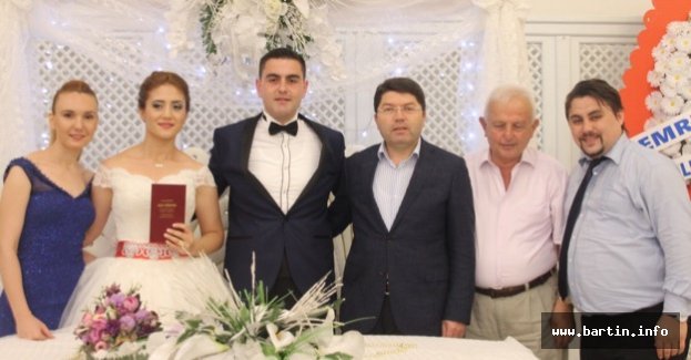 Tunç Nikah Şahidi Oldu