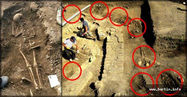 Amasra'da bulunan 50 insan iskeleti inceleniyor