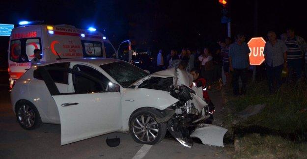 Bartın'da Kaza: 3 Yaralı