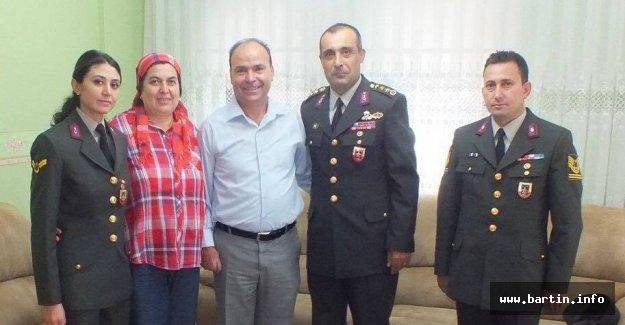 Bartın Jandarma Alay Komutanı Tunceli'ye Atandı