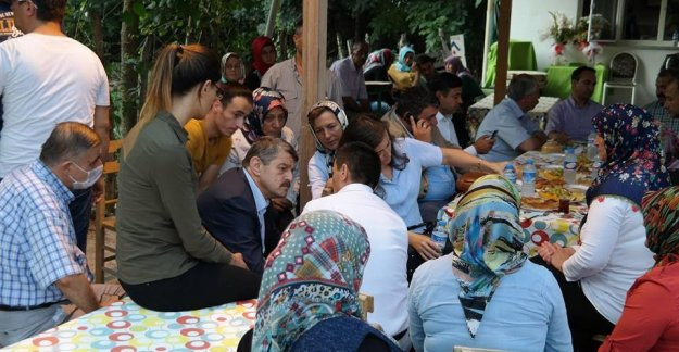 Başkan'dan Şehit Ailesine Taziye Ziyareti