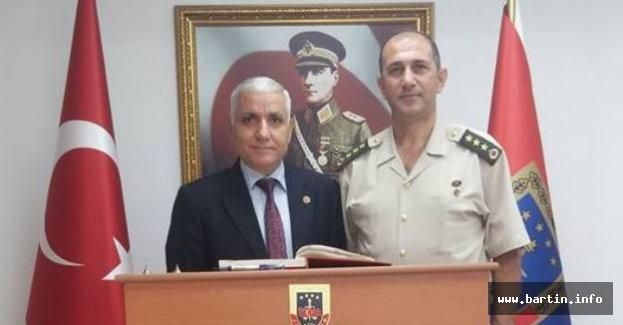Dursun'dan Jandarma Alay Komutanına Ziyaret