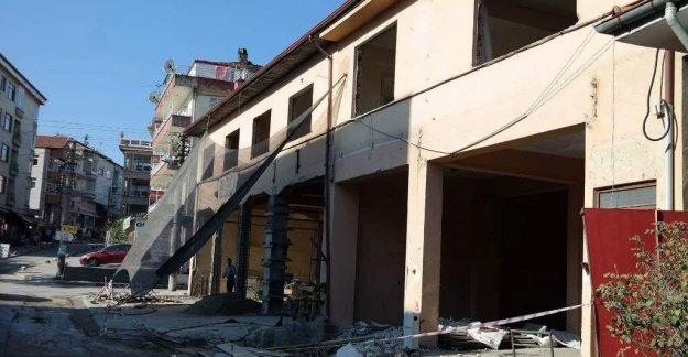 Eski İtfaiye Binası Onarılıyor