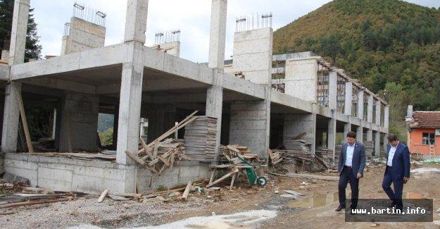 Hasankadı İHO inşaatı hızla devam ediyor