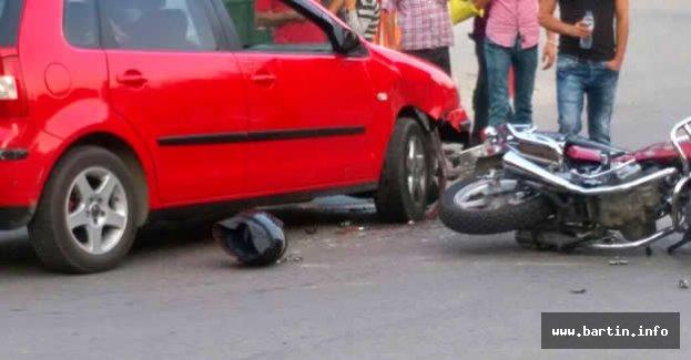 Kozcağız'da Kaza: 1 Yaralı
